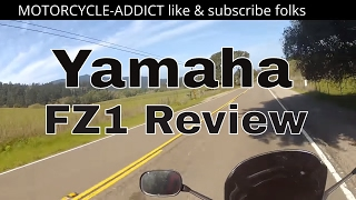 10. Yamaha fz1 Review, Full Review by owner 1000cc Motorcycle Review