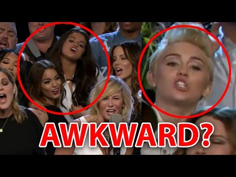 Selena Gomez & Miley Cyrus' AWKWARD Run-in on 'Chelsea Lately'