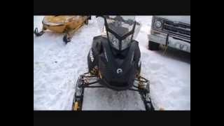 2. 2012 Skidoo Renegade 600 Ace.