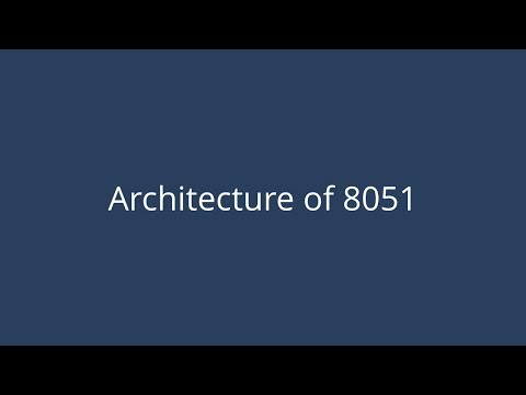 Architecture of 8051