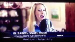 "Elizabeth South WINS Best Cover of ""Let It Go\"" Ryan Seacrest WNCN Sean Maroney"