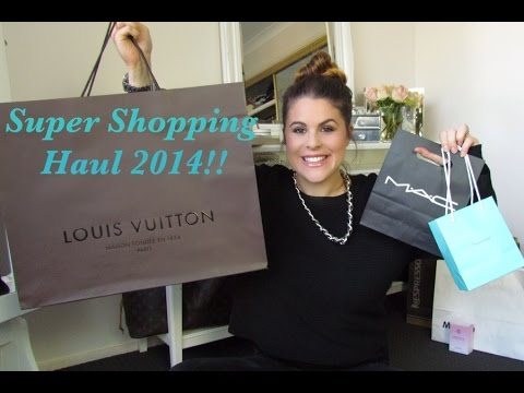 Super Shopping Haul: Chanel,Tiffany, Lush,Louis Vuitton,MAC