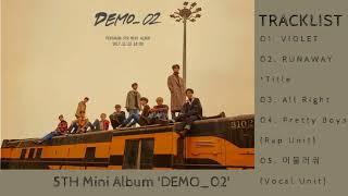 Download Lagu [Full Album] PENTAGON (펜타곤) - DEMO 02 [5th Mini Album] Mp3