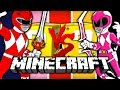 Download Lagu Minecraft: POWER RANGER LUCKY BLOCK CHALLENGE   OBSTACLE COURSE Mp3 Free