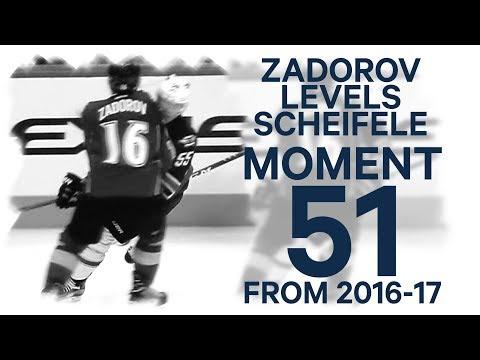 No. 51/100: Zadorov levels Scheifele