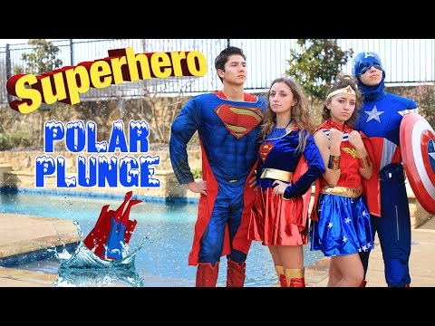 Favorite Character Polar Plunge 2017   Brooklyn and Bailey Challenge Videos