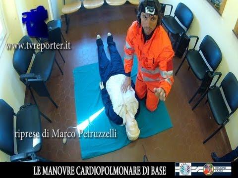 come salvare una vita: manovre di rianimazione cardiopolmonare