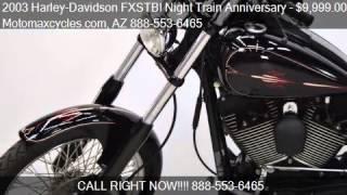 8. 2003 Harley-Davidson FXSTBI Night Train Anniversary for sale