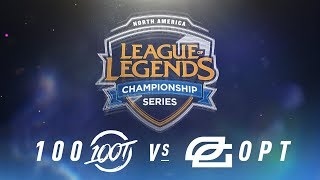Video 100 vs. OPT - Week 1 Day 1 | NA LCS Spring Split | 100 Thieves vs. OpTic Gaming (2018) MP3, 3GP, MP4, WEBM, AVI, FLV Juni 2018