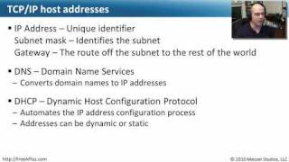 Troubleshooting TCP/IP Settings - CompTIA A+ 220-702: 3.1