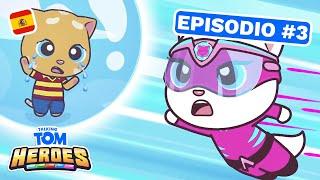 Video Talking Tom Heroes - El problema de las burbujas gigantes (Episodio 3) MP3, 3GP, MP4, WEBM, AVI, FLV September 2019