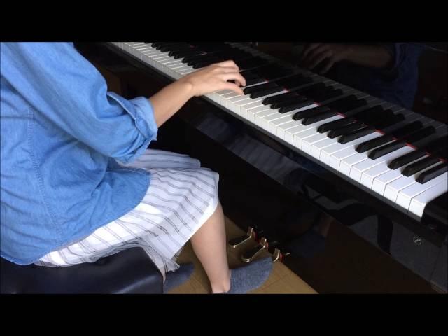 ピアノのペダルの踏み方~イマイチな例です。