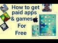 Download Video Get PAID Apps, Games FREE on iOS 11.0.3 (NO JAILBREAK) (NO COMPUTER) (NO REVOKE) iPhone, iPad, iPod