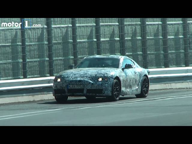 New Toyota Supra out for a test drive