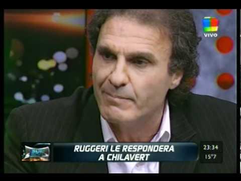 Ruggeri le contesta a Chilavert. Primera parte