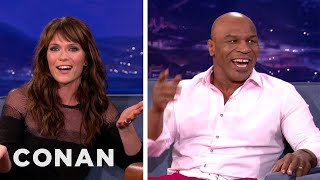 """Katie Aselton Teaches Mike Tyson About Sexy Euphemisms From """"The League"""""""
