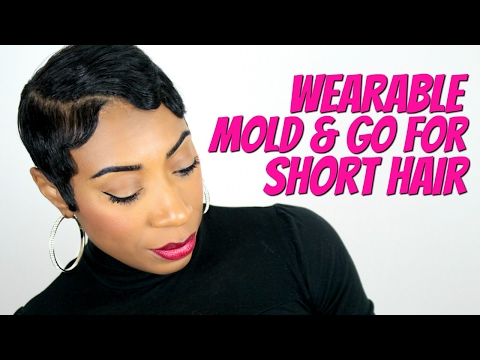 Wearable Mold & Go For Short Hair | Kaye Wright