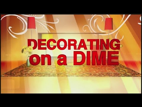 Decorating on a Dime: Making Floor Clothes