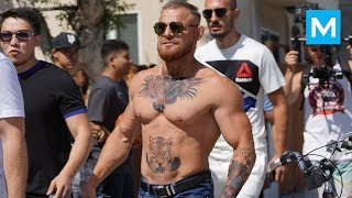 Video Conor McGregor Ready for Heavyweight Division (Prank) | Muscle Madness MP3, 3GP, MP4, WEBM, AVI, FLV Desember 2018