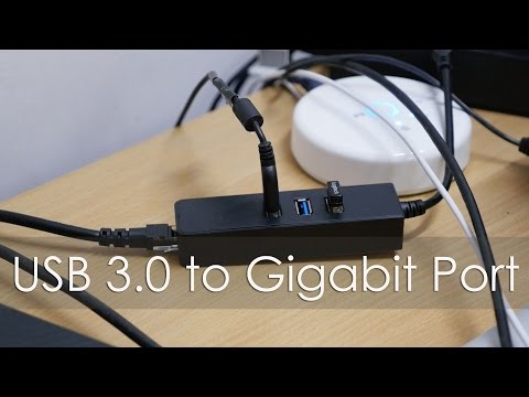 Accessory USB to Gigabit Ethernet Adapter with USB Ports