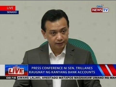 Video NTVL: Press conference ni Sen. Trillanes kaugnay ng kanyang bank accounts download in MP3, 3GP, MP4, WEBM, AVI, FLV January 2017