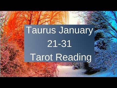 Taurus January 21-31 2019 ~ Divine Gifts After Pain ~ Tarot Reading