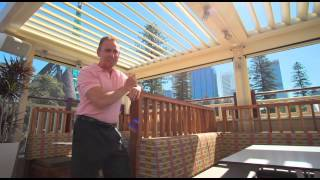 Vergola Opening Roof Systems - Featured on Home WA