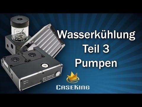 Wasserkühlung Teil 3 - Pumpen und Zubehör - Caseking TV