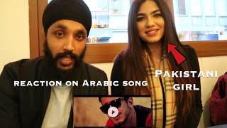 MAL HBIBI MALOU | Arabic Song | Indian Reaction with Pakistani/Kashmiri girl