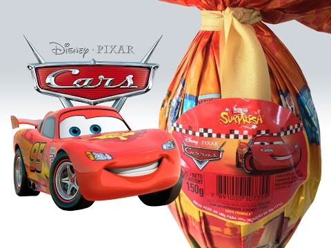 Imagens de feliz páscoa - Ovo de Pa?scoa Disney Pixar Carros Nestle? Surpresa 2015