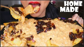 ASMR IN-N-OUT ANIMAL STYLE FRIES HOME MADE | EATING SOUNDS | NO TALKING