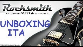 Il nostro caro Riccardo appassionato di musica , ci mostra la confezione e il suo interno dell edizione 2014 di rocksmith per ps3.