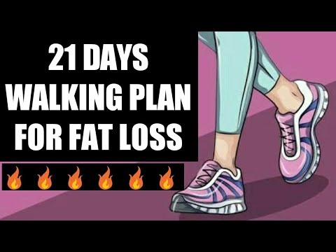 How to lose weight - HOW MUCH YOU SHOULD WALK TO LOSE WEIGHT  WALKING WEIGHT LOSS PLAN  IN HINDI / ENGLISH