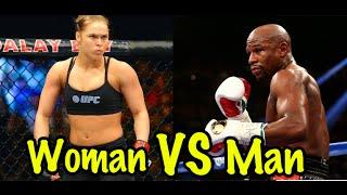 Best Female Boxer & Kickboxer vs. Male Fighter
