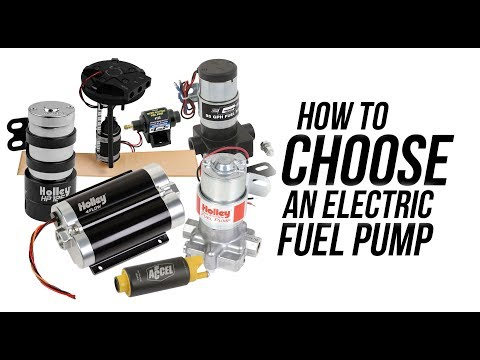 How to choose an Electric Fuel Pump!