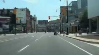 Hamilton (ON) Canada  city images : Driving in Hamilton, Ontario, Canada