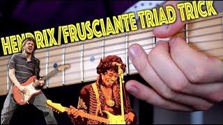 Video The Hendrix/Frusciante Triad Trick MP3, 3GP, MP4, WEBM, AVI, FLV Juni 2018