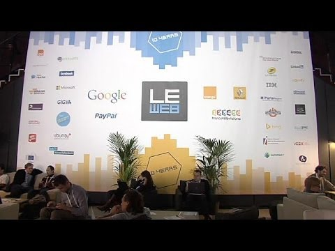 Web - One exciting element of this 10th edition at Le Web is bringing together inspiring startups and... euronews, the most watched news channel in Europe Subscrib...