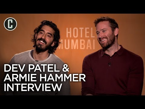 Hotel Mumbai: Armie Hammer and Dev Patel Interview