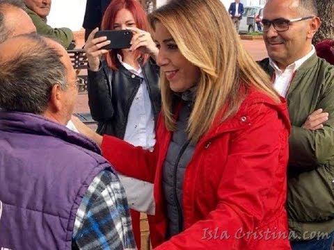 Visita de Susana Díaz a La Redondela 20 Nov 2018
