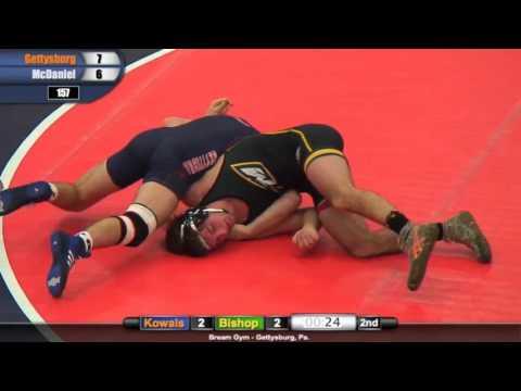 Wrestling: Gettysburg vs. McDaniel