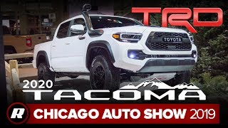 2020 Toyota Tacoma brings Android Auto to the US, more tech  | Chicago 2019 by Roadshow