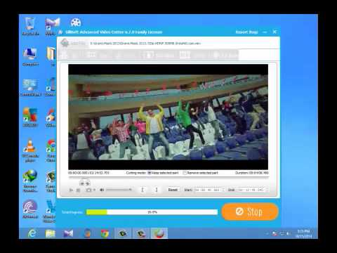 How to  Advanced video Cut on ( GiliSoft Video Editor )