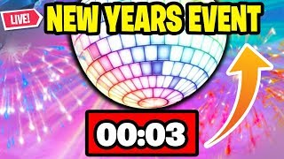 *NEW* Fortnite NEW YEARS EVENT Update HAPPENING RIGHT NOW! (Fortnite Battle Royale)