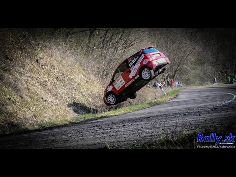 Eger Rallye 2015 action & crash