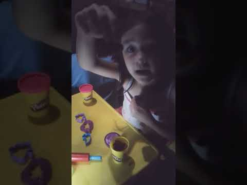 Play Doh making