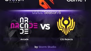 Arcade vs CIS Rejects, game 1