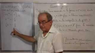 Algebra Intermedia - Lección 37 - B (solución De Ecuaciones Puras)