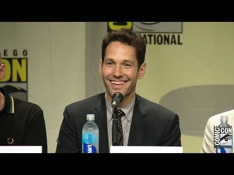 man - Ant Man Comic Con 2014 Panel: Paul Rudd, Michael Douglas & More! Subscribe Now! ▻ http://bit.ly/SubClevverMovies Marvel bring their 2015 release Ant-Man to Comic Con with director Peyton...