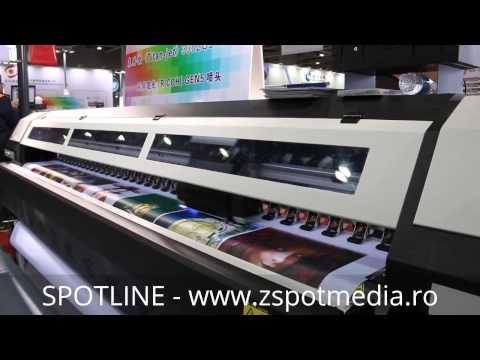 Video Printer roll to roll UV 3.2m SL-3202UV
